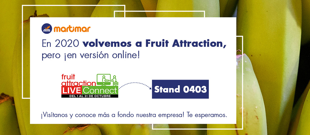Noticia Fruit Attraction 2020 Martimar